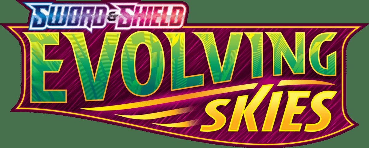 Sword Shield Evolving Skies logo