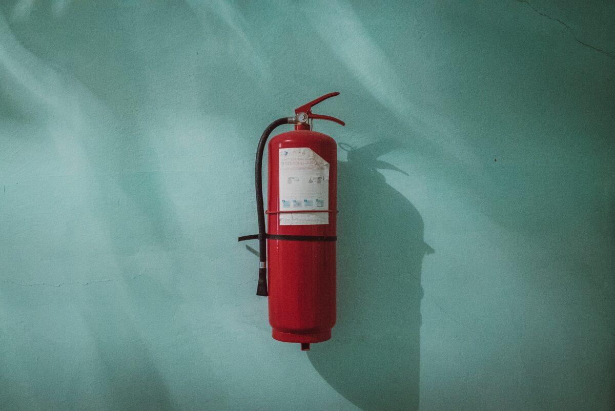 brandblusser ongeluk bhv