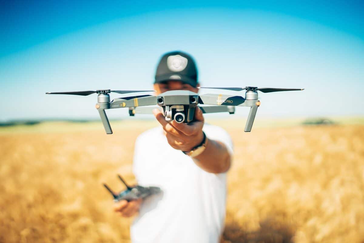 drone film fotogafie