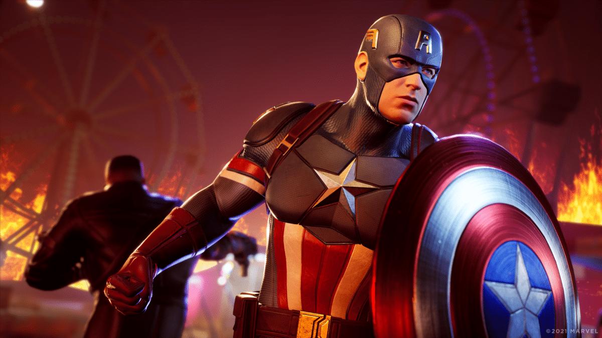 marvel midnight suns captain america