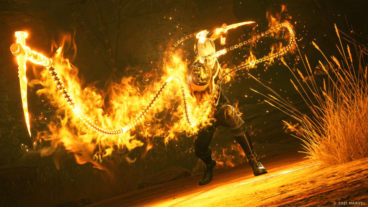 marvel midnight suns ghost rider