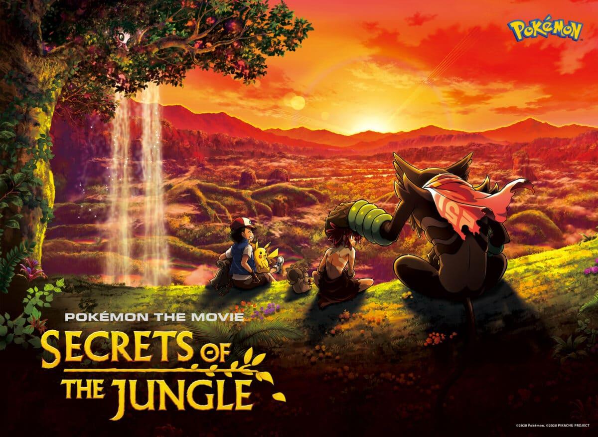 Pokemon de film Geheimen van de jungle