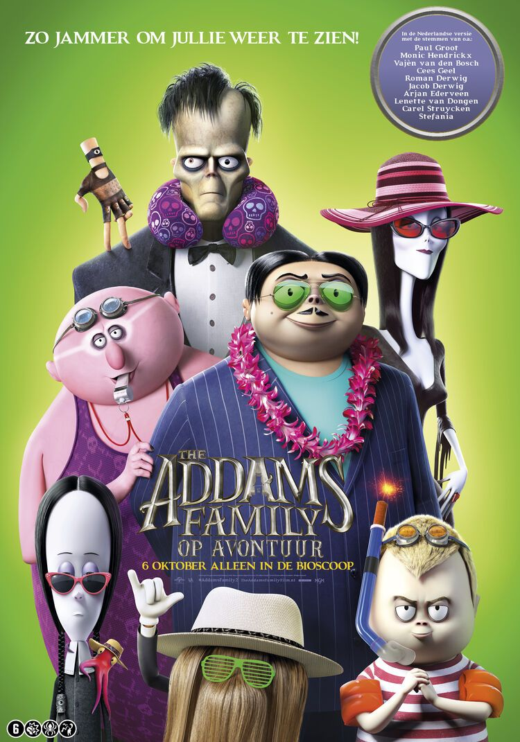 The Addams Family 2 filmposter